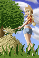 Farmer Girl by Xeolan