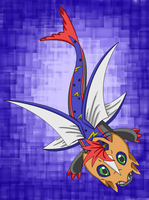 Feiyumon - Another One Of MY Digimon FC's by Destiny-The-Hedgimon
