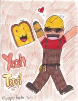 RED Engineer: YEAH TOAST! by FlygonPirate