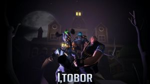 Night of The Living Update 2, I Tobor by Createvi