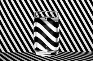 Striped Thing - Waterglass by Finvara