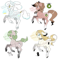 [Auction + Auto-buy] Adoptable Set #1 ALL SOLD by Rannarbananar