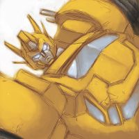 DM Bumblebee the Prime Autobot by dyemooch