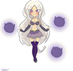 Lol: Syndra-chan by Jaskierka