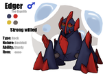 Edger the Gigalith by DarkoDraco