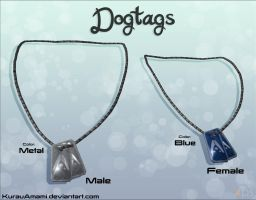 Mass Effect 3 - Dogtags for XPS by KurauAmami