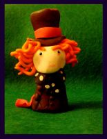 Fimo Mad Hatter by MrsAgatha