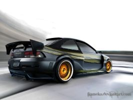 Honda Civic Si by Flameks