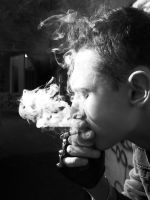 Smoke of cigarettes by ritUsik