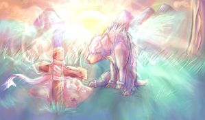 .:Forever in my Memory:. by Eeveewolf