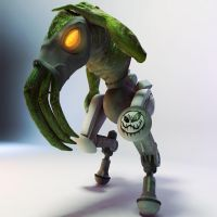 Polished off Oddworld Slig by ShoeBalls
