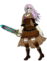 Crazyrainbowgirl's Marzipan in color by Zexion-the-gamer