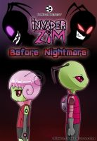 Invader Zim: Before Nightmare - Cover by Blhite