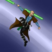 Jedi Thomas Zhaan by lonelion4ever