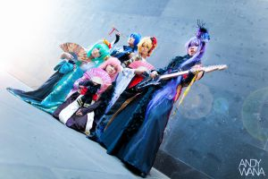 Vocaloids (Ver. Setsugetsuka) by AndyWana