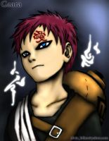 Gaara - Colored by alvinbilian