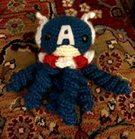 Captain America jelly  by magpie89