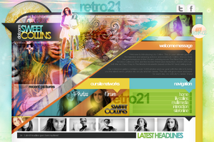 Lily Collins Layout by R21Art