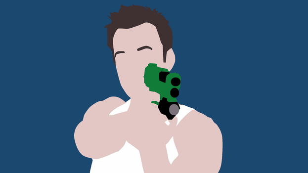 Minimalist Jeff Winger Wallpaper by DamionMauville