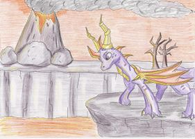 - The legend of Spyro: Burned lands - by Celestial-StarLightX