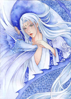 God of water by Yue-Higanbana