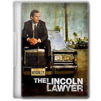 The Lincoln Lawyer (2011) Movie DVD Icon by A-Jaded-Smithy