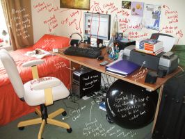 Michelle's Annotated Room by michelleion