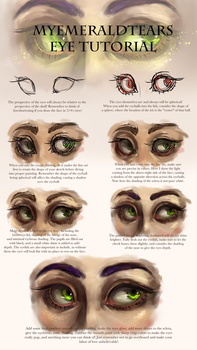 Eye Tutorial Step by Step! by MyEmeraldTears