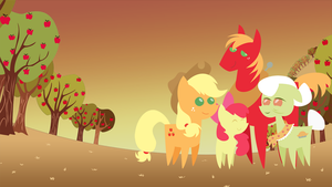 Apple Family Best Friends Forever by Secret-Asian-Man