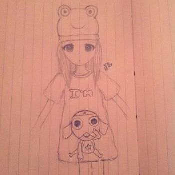 Am a frog ^^ by 3farry