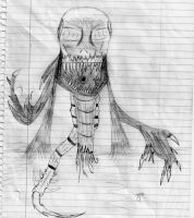 Creepy Thing 3 by THE-R4GE