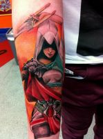 lady assasin by nirpa