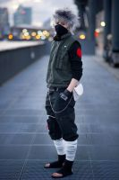 Hello Kakashi by firecasterx2
