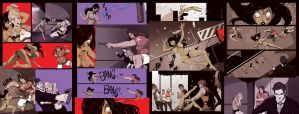 COLORS Zombie Tramp ISSUE 2 page2thru5 by jasinmartin