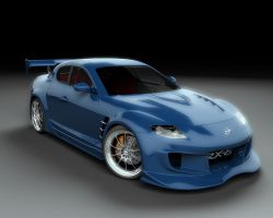 Mazda RX8 by stefanmarius