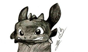 Toothless by Alrine21XE