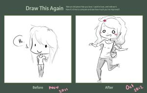 Draw me again! by Ello-well