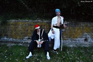 Grimmjow And Renji - Bleach by LordProtoMan