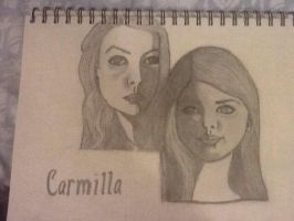 Carmilla and Laura by Carebeark5