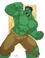 The Incredible Hulk by Mro16