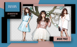 PACK PNG 226 | TAEYEON (SNSD) by MAGIC-PNGS