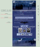 Spooky Halloween Journal - Easy.Install by poserfan