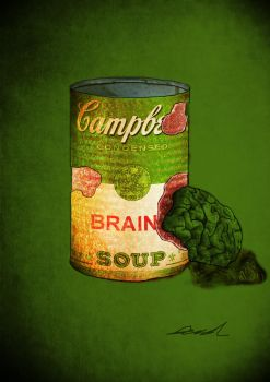 Campbell's brain soup by itzthedave