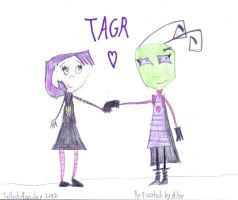 My First TAGR Picture (Request) by Annaley