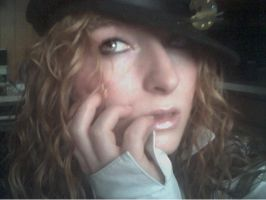 Me with my black hat by GingerAnne