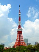 Tokyo Tower! by RunaFire