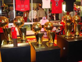 6x NBA Champs by Photopops