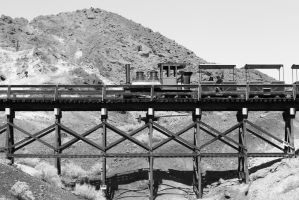 Calico Train by FellowPhotographer