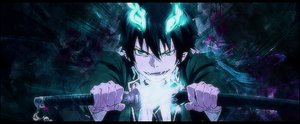 Ao no Exorcist by Chaos128