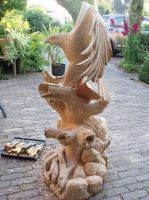Eagle in progress 15 by woodcarve